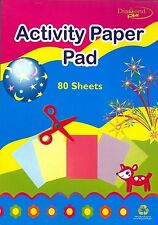 80 sheets Multicolor Activity Pad for Kids,ArtCraft,Fun,Decoration,CPG-057
