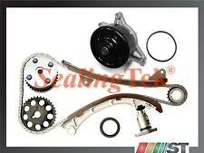 Fit 00-08 Toyota 1.8L 1ZZFE VVT-i Engine Timing Chain Kit w/ VVT Gear Water Pump