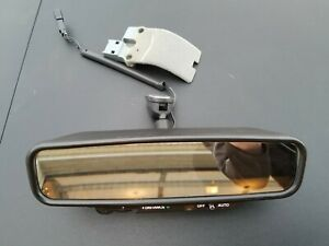 1985-89 Cadillac Brougham Seville auto dim rear view mirror with manual distance
