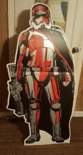 CAPTAIN PHASMA Star Wars VIII The Last Jedi CARDBOARD CUTOUT Standee Standup