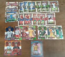 24xPanini Select 17/18 Insert Lot Checkerboard Field Level Multi Silver Numbered