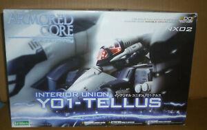Armored Core Interior Union Y01-TELLUS NX02 (Kotobukiya)