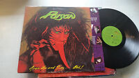 Poison Open Up and Say...Ahh! Capitol Banned uncensored LP tongue '88 cl248493!