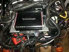 Harley Davidson Amp Wiring Kit & Aftermarket Radio Mounting Bracket  PBR300X2