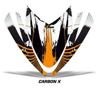Sled Hood Graphics Kit Decal Sticker Wrap For Arctic Cat M Series M7 M8 CRBNX O