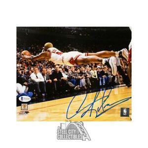 Dennis Rodman Autographed Chicago Bulls 8x10 Photo - BAS COA