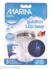Marina Cool LED Goldfish Lamp Aquarium Light Fixture White 13430