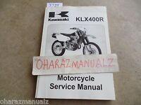 2003 2004 2005 KAWASAKI KLX400R Service Manual OEM