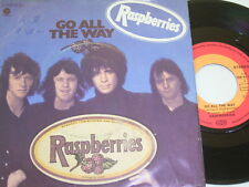 """7"""" - Raspberries Go all the way & With you in my Life - 1972 # 0090"""