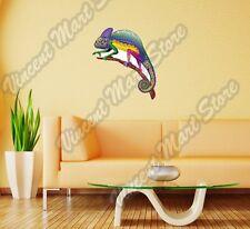 "Chameleon Fantasy Rainbow Colorful Wall Sticker Room Interior Decor 22""X22"""