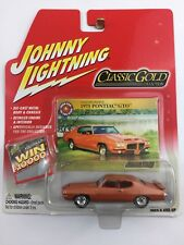 Johnny Lightning Classic Gold Collection 1971  71 Pontiac GTO Orange Die Cast