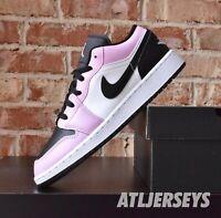 Nike Air Jordan 1 Low GS Arctic Pink Black White 554723-601