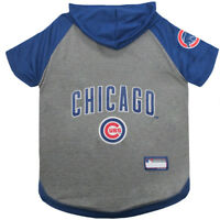 Chicago Cubs MLB Sporty Dog Pet Hoodie T-Shirt Sizes XS-L