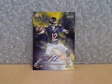 2014 Topps Fire Rookie Autographs Gold #150 David Fales /50