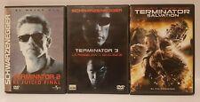 PELICULA DVD PACK TERMINATOR 2 + TERMINATOR 3 + TERMINATOR SALVATION