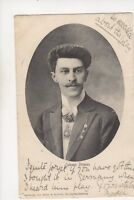 Johann Strauss Composer 1904 Postcard Music 332b