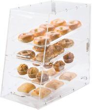 4 Tray Restaurant Pastry Doughnut Countertop Baked Goods Bakery Display Case