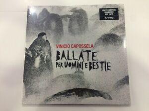 VINICIO CAPOSSELA Ballate per uomini e bestie 2 LP  lim edition 180 g SIGILLATO