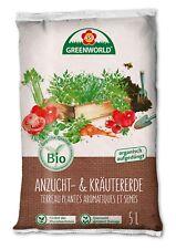 ASB Greenworld 314439 BIO Anzucht- & Kräutererde (5 l) (Aussaaterde)