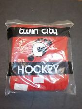 New listing Twin City Hockey - Adult Hockey Socks - Red & White - New In Packaging!
