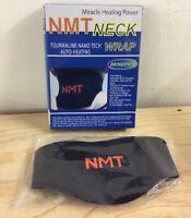 NeoMedinaTech Unisex Neck Wrap Black One Size Fits Most H001 New Open Box