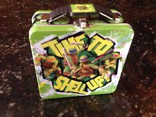 Tin Teenage Mutant Ninja Turtle Box We are the Turtles of Justice 2013 green