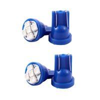 4 X T10 Bleu 5 Led 1210 Smd Ampoule Pour Tableau De Bord Voiture R9N3