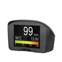 Autool X50 Plus Car HUD Head Up Display Over Speed Warning OBD2 Speedometer
