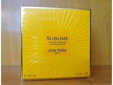 Eau de toilette spray SUBLIME de Jean Patou 50ml. Old formula. NUEVO / NEW