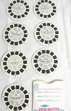 VTG LOT of 7 Reel India Mexico Switzerland Hawaii Spain Africa People Viewmaster