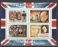 Antigua Hojas Yvert 15 ** Mnh Winston Churchill