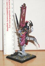 WARHAMMER FANTASY CHAOS Lord of SLAANESH ON DAEMONIC STEED PRO PAINTED METAL   A