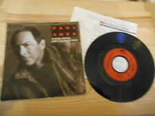"""7"""" POP PAUL ANKA-a steel guitar and a glass of wine POLYDOR + presskit"""