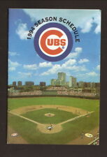 Chicago Cubs--Wrigley Field--1994 Pocket Schedule--LubePros