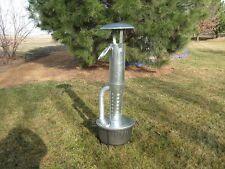 New Smudge Pot, diesel kerosene, return pipe, orchard, camp heater, w/stand