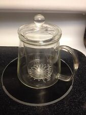 TeaPosy Pot L'amour Tea Posy w Glass Filter & Top, Great Gift Condition FastShip