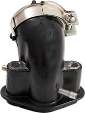 OUTSIDE GY6 4-STROKE INTAKE MANIFOLD 27MM 50CC DOUBLE VACUUM PORT PART# 05-0217-