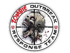Zombie Outbreak Response Team Vinyl Decal Sticker Multi-Color