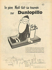Publicité Advertising 1956  DUNLOPILLO matelas en mousse de latex