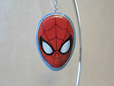 "Marvel Spider-Man Resin Christmas Ornament By Kurt S Adler, 2"" X 1 1/4"", NEW!!"