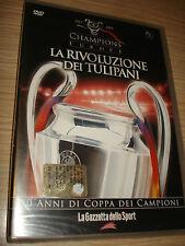 DVD N°3 CAMPEONES DE EUROPA EL RIVOLUZIONE DE TULIPANES REVISTA DE DEPORTE