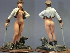 tin toy soldiers painted Pegaso Girl 80mm the Russian Girl