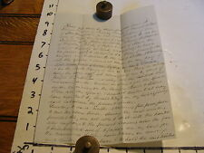 Vintage embossed paper: BILL OF SALE FOR TIMBER, OZEM DAVIS, CONWAY, NH, 1858