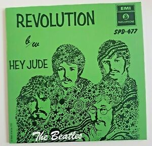 """THE BEATLES 2019 : REVOLUTION / HEY JUDE ♦  SOUTH AFRICA 1968 (Remastered 7"""")"""