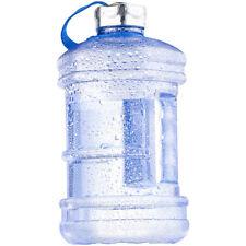 Speeron Auslaufsichere Trinkflasche mit Tragegriff, 2,3 l, BPA-frei, blau