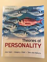 Theories of Personality eight edition by Jess Feist ISBN 9780073532196