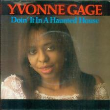 """7"""" Yvonne Gage/squalifica 'it in a Haunted House (NL)"""