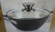 New In Box Parini Dutch Oven 2.5 Quart Porcelain Enamel Cast Iron