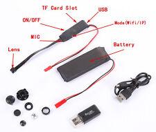 Wireless WiFi Hidden Camera Module Video DVR DV Recorder DIY F Android Apple