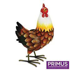 Primus Ferme Métal Poule Jardin Sculpture Ornement PQ1202 idée cadeau